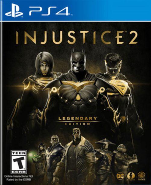 Oferta de INJUSTICE 2 PS4 por $1539