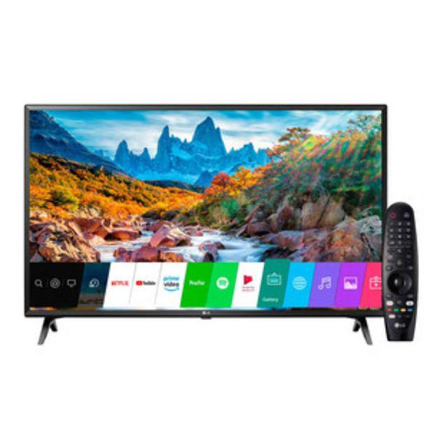 Oferta de SMART TV LG 43 PULGADAS 4K UHD 43UM7360 por $51999