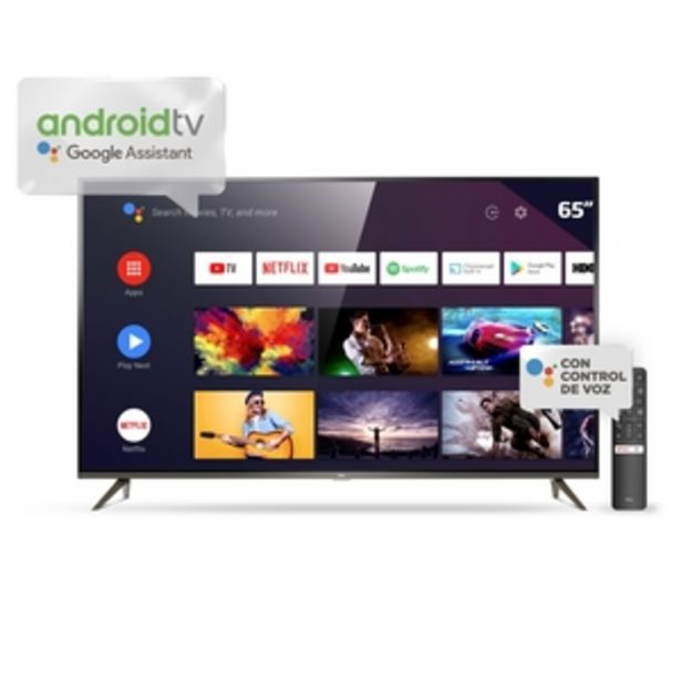 Oferta de ANDROID TV TCL 65 PULGADAS 4K UHD L65P8M por $89999