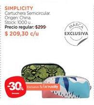Oferta de Cartuchera Semicircular. por