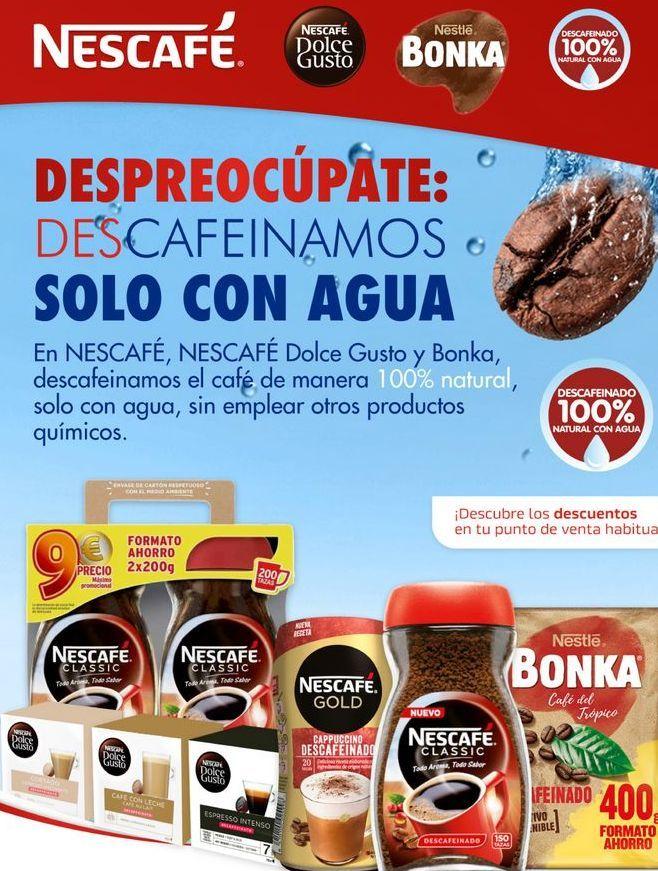 Oferta de Cafe Nescafé por