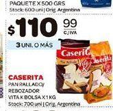 Oferta de Pan rallado Caserita por $110,99