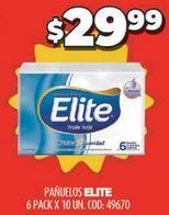 Oferta de Pañuelos de papel Elite por $29,99
