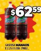 Oferta de Gaseosas Manaos por $62,59