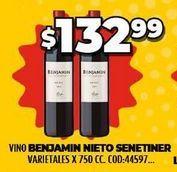 Oferta de Vino Benjamín Nieto por $132,99
