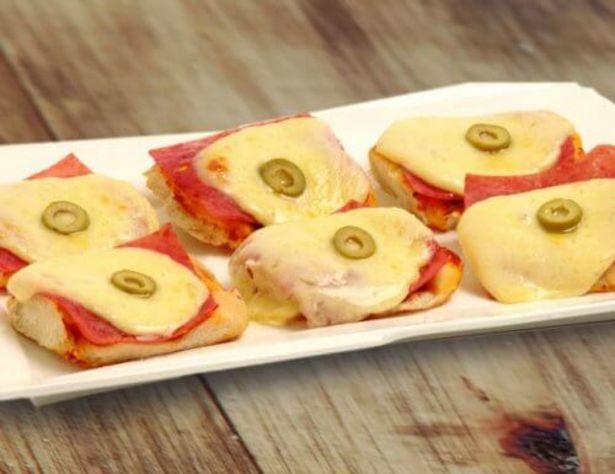 Oferta de Pizzetas con jamón y muzzarella por $220