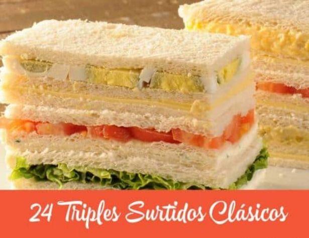 Oferta de 24 Triples Surtidos Clásicos por $790