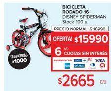 Oferta de Bicicleta infantil por $15990