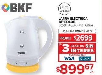 Oferta de Pava electrica BKF por $2699