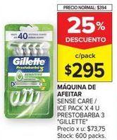 Oferta de Máquina de afeitar Gillette por $295