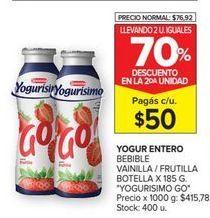 Oferta de Yogur líquido Yogurísimo por $50