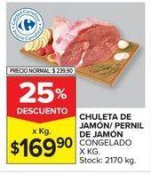 Oferta de Chuletas por $169,9