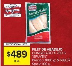 Oferta de Filetes de abadejo Epuyen por $49