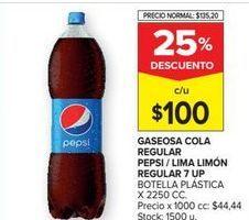 Oferta de Gaseosas Pepsi por $100