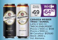 Oferta de Cerveza por $64,9