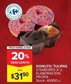 Oferta de Donuts por $31,9