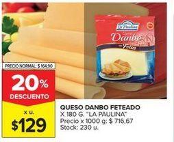 Oferta de Quesos La paulina por $129