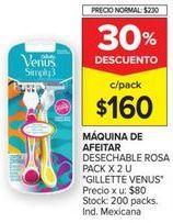 Oferta de Máquina de afeitar Gillette por $160