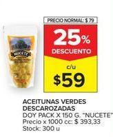 Oferta de Aceitunas Nucete por $59
