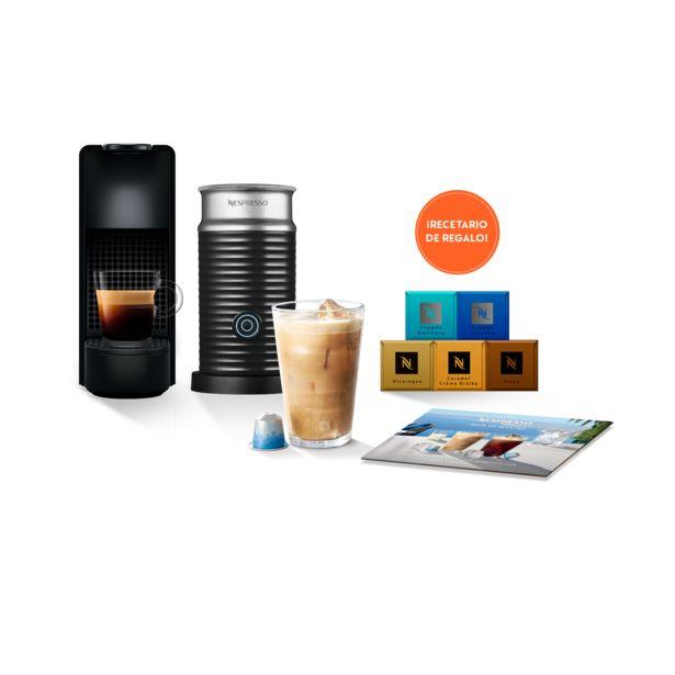 Oferta de Pack Essenza Mini Black C + 2 Vasos VIEW de Recetas + Pack Summer 50 Cápsulas* por $26680