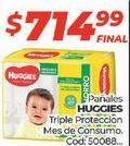 Oferta de Pañales Huggies por $714,99