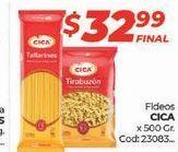 Oferta de Fideos Cica por $32,99