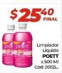 Oferta de Limpiadores Poett por $25,4
