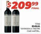 Oferta de Vino tinto Emilia por $209,99