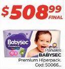 Oferta de Pañales Babysec por $508,99