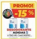 Oferta de Desodorante Adidas por