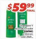Oferta de Shampoo y acondcionador por $59,99