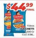 Oferta de Fideos Lucchetti por $44,99
