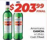 Oferta de Bebidas alcohólicas Gancia por $203,99