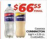 Oferta de Gaseosas Cunnington Style por $66,55