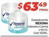 Oferta de Desodorante Rexona por $63,49