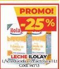 Oferta de Leche Ilolay por