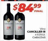 Oferta de Vino tinto Canciller por $84,99