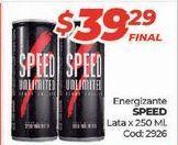 Oferta de Bebida energética Speed por $39,29