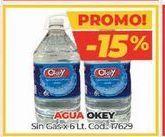 Oferta de Agua Okey por