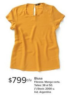 Oferta de Blusa por $799