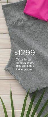 Oferta de Calza larga por $1299