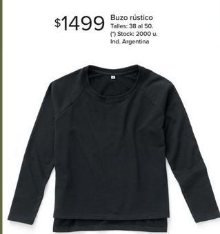 Oferta de Buzo rústico por $1499