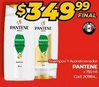 Oferta de Shampoo y acondicionador  Pantene por $349,99