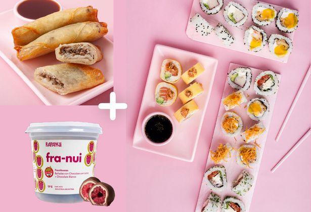 Oferta de Tokyo 25 + Empanaditas + Franui Choco y leche por $1259