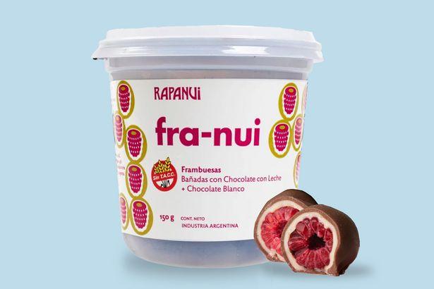Oferta de Franui Chocolate con Leche & Blanco 150gr por $349