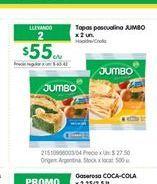 Oferta de Tapa pascualina JUMBO por $55
