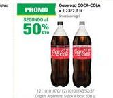 Oferta de Gaseosas Coca cola por
