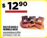 Oferta de Dulce de batata o membrillo a Arcor por $12,9
