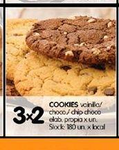 Oferta de Cookies por