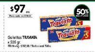 Oferta de Galletitas Traviata por $97